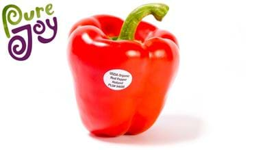 USDA Organic bell peppers